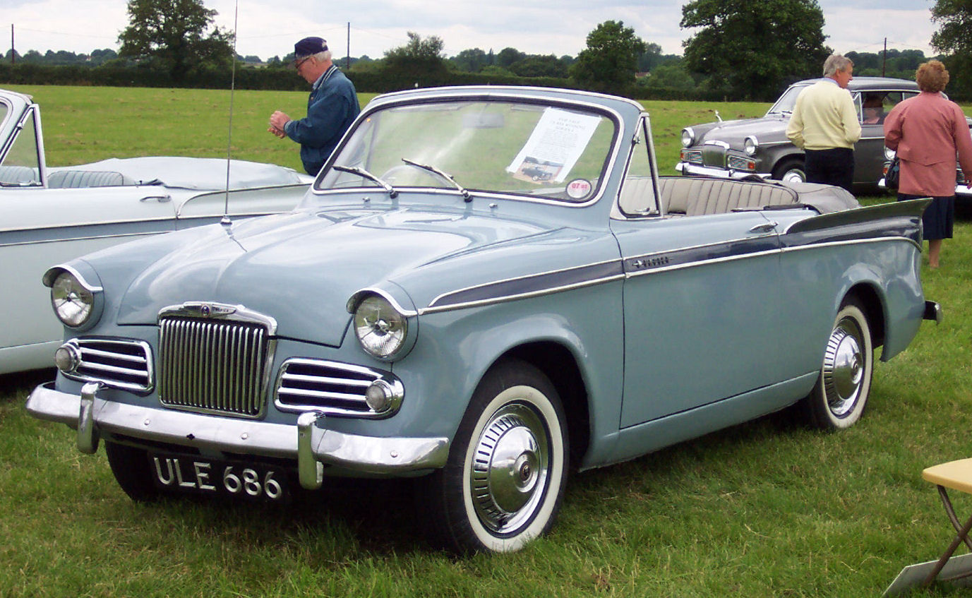 1957 Sunbeam Rapier #5