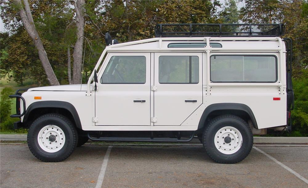 1993 Land Rover Defender #4