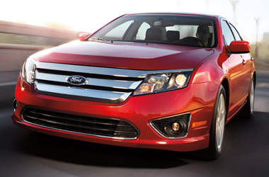 2012 Ford Fusion #9