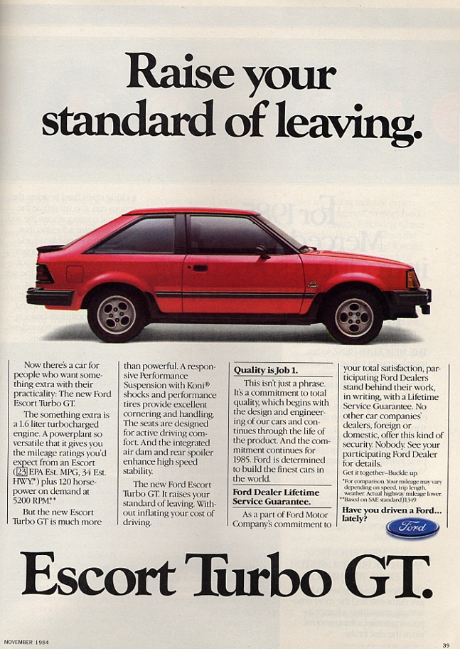 1985 Ford Orion #13