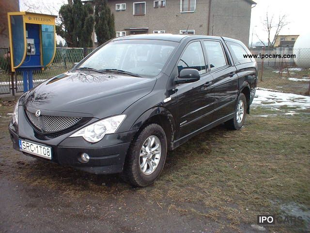 2007 Ssangyong Actyon #6