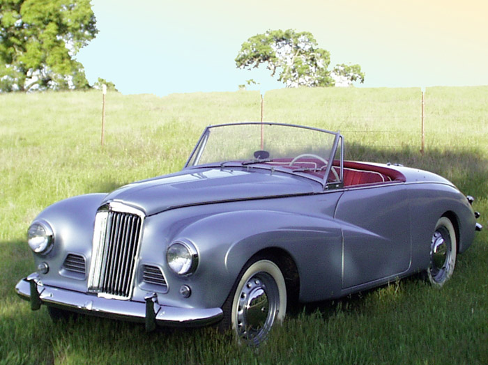 1954 Sunbeam Alpine #5