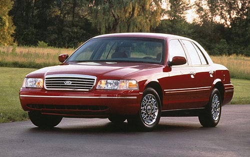 1998 Ford Crown Victoria #4