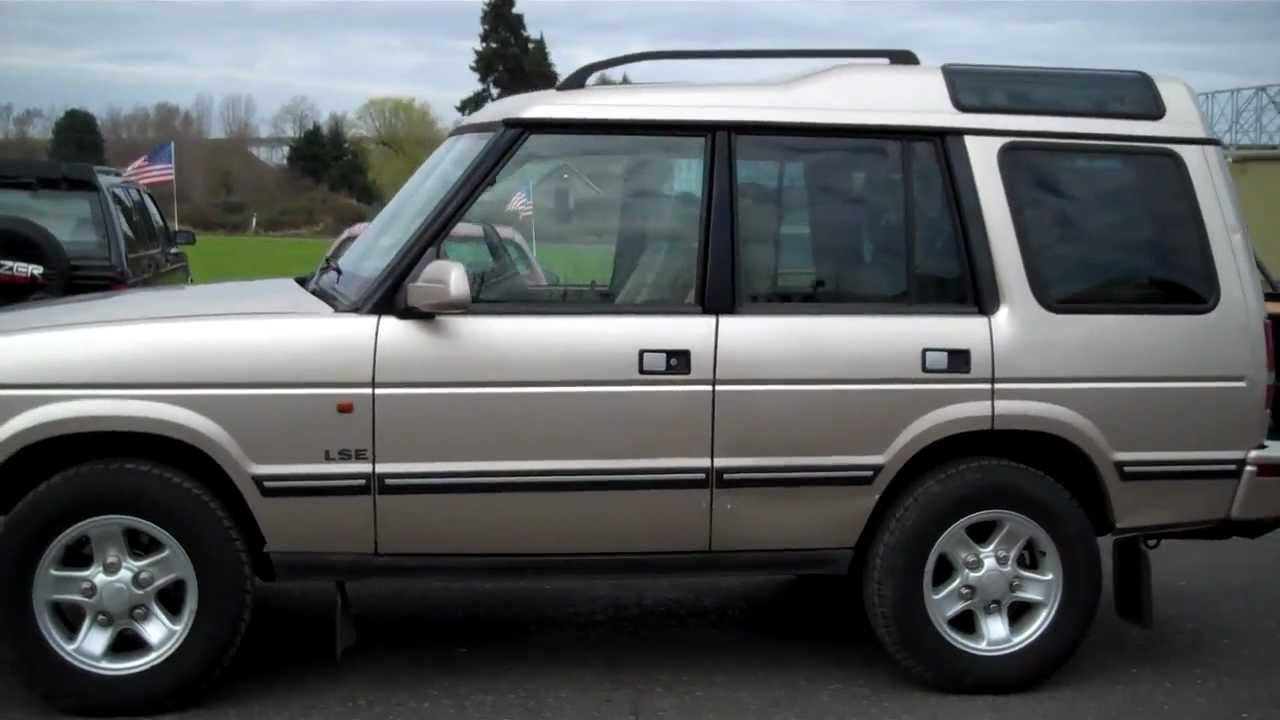 1998 Land Rover Discovery #10