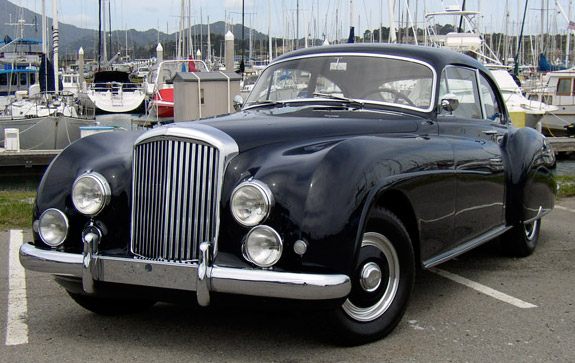 1952 Bentley R Type Continental #1