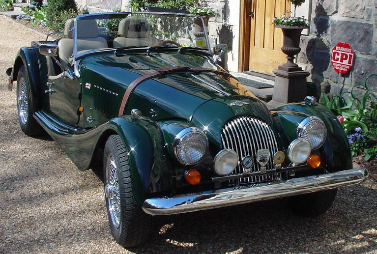 1996 Morgan Plus 4 #6
