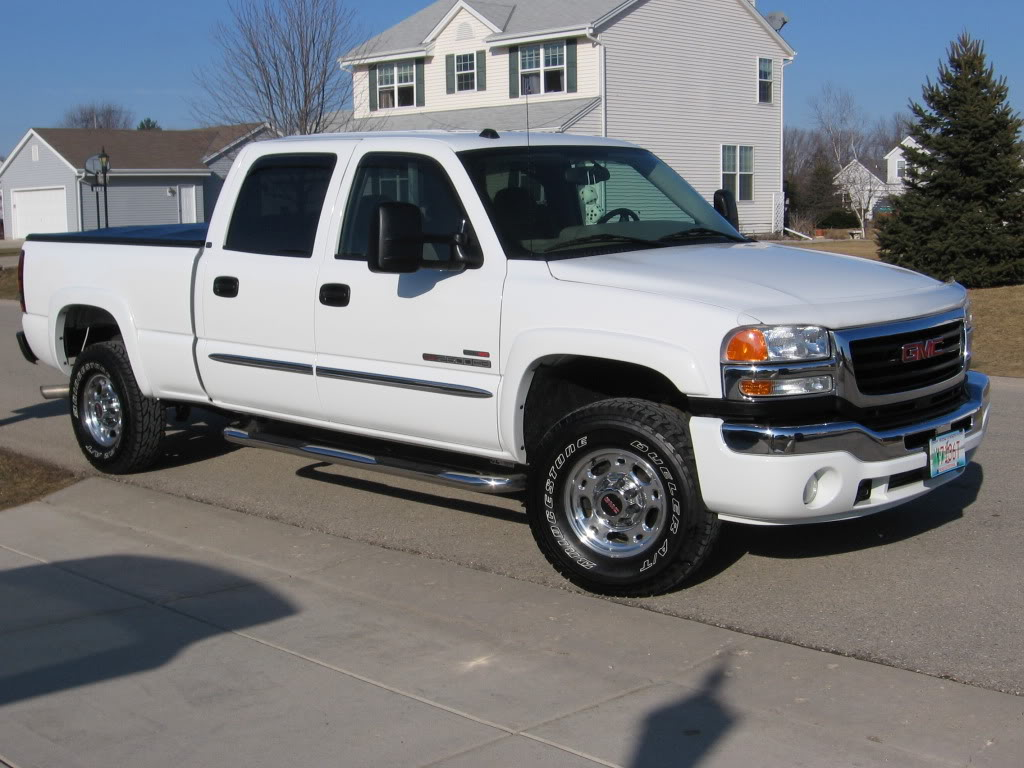 2005 GMC Sierra 2500hd #9