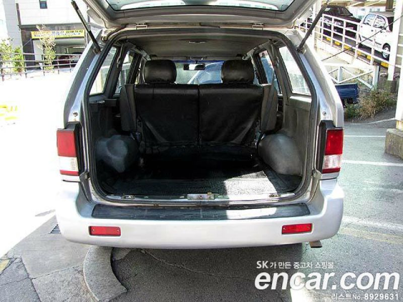 2000 Ssangyong Musso #13