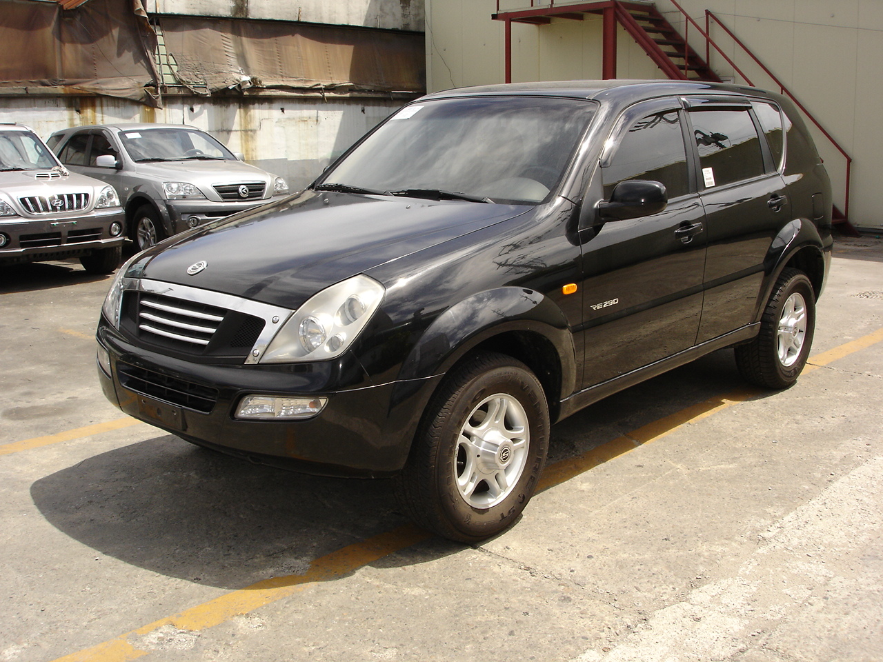 2002 Ssangyong Musso #17