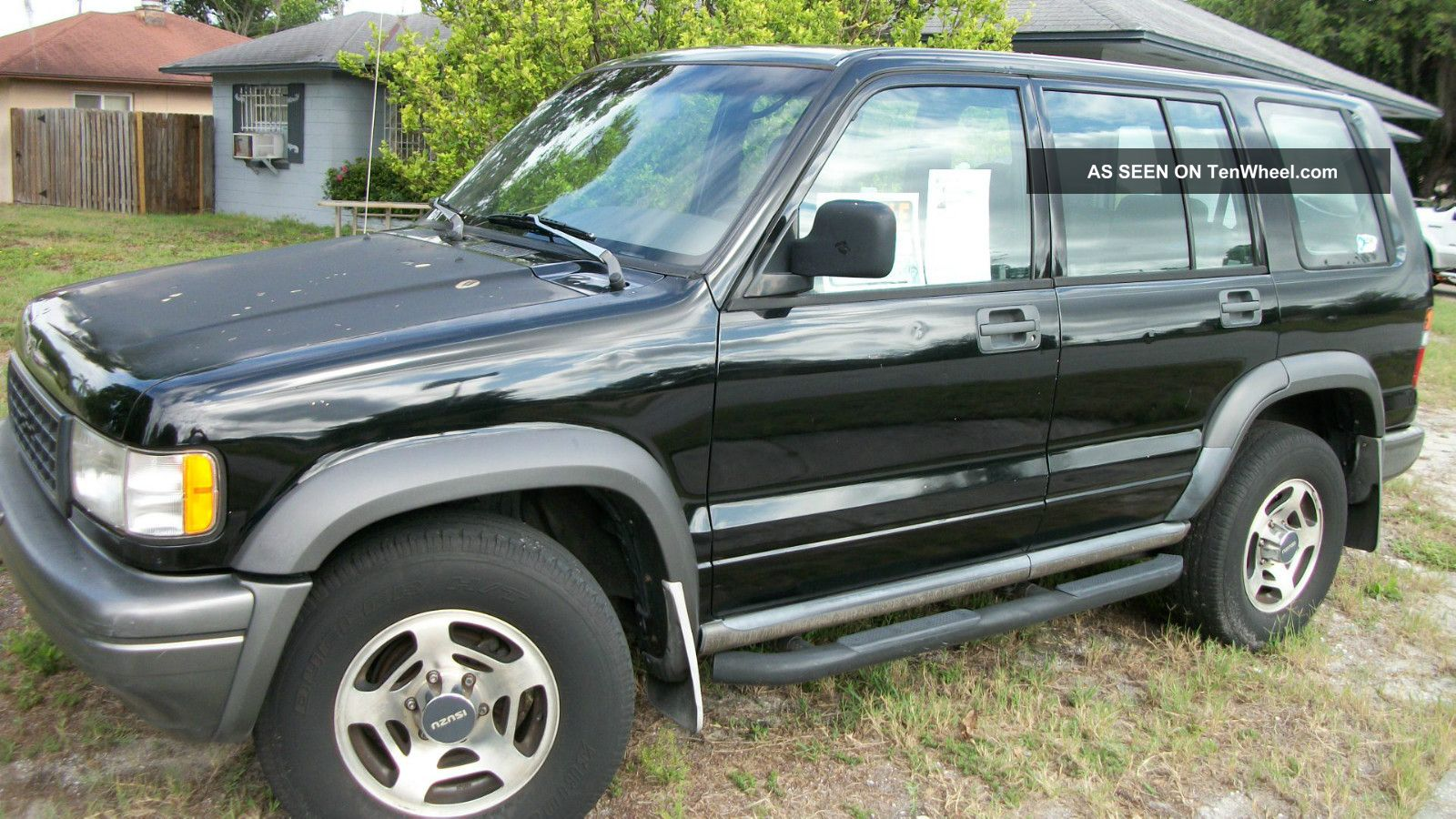 1996 Isuzu Trooper #10