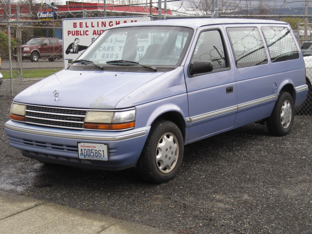 1993 Plymouth Voyager #3