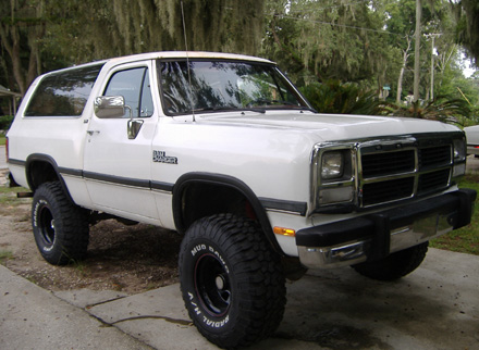 1992 Dodge Ramcharger #4