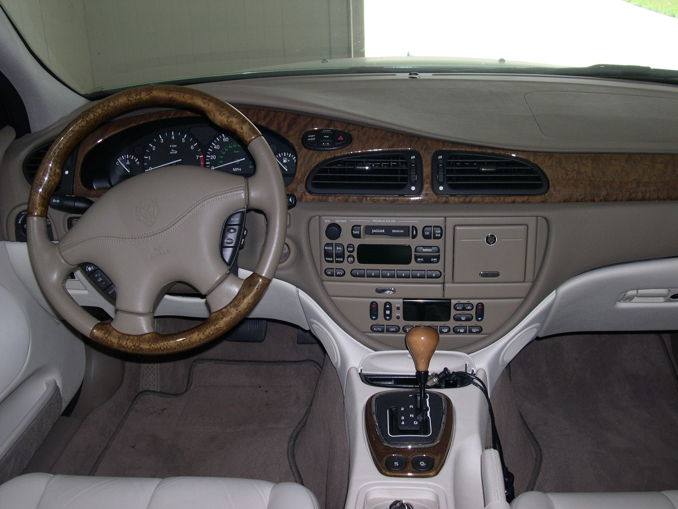 2001 Jaguar S-type #5