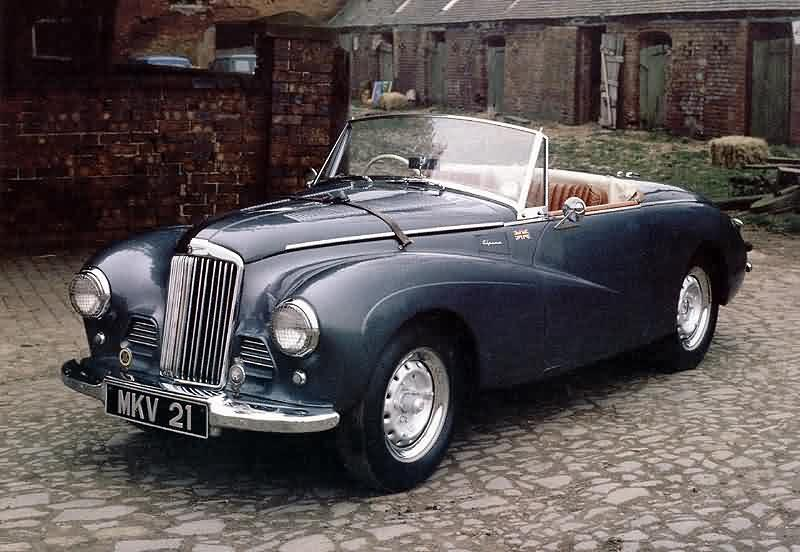 1953 Sunbeam Alpine #9