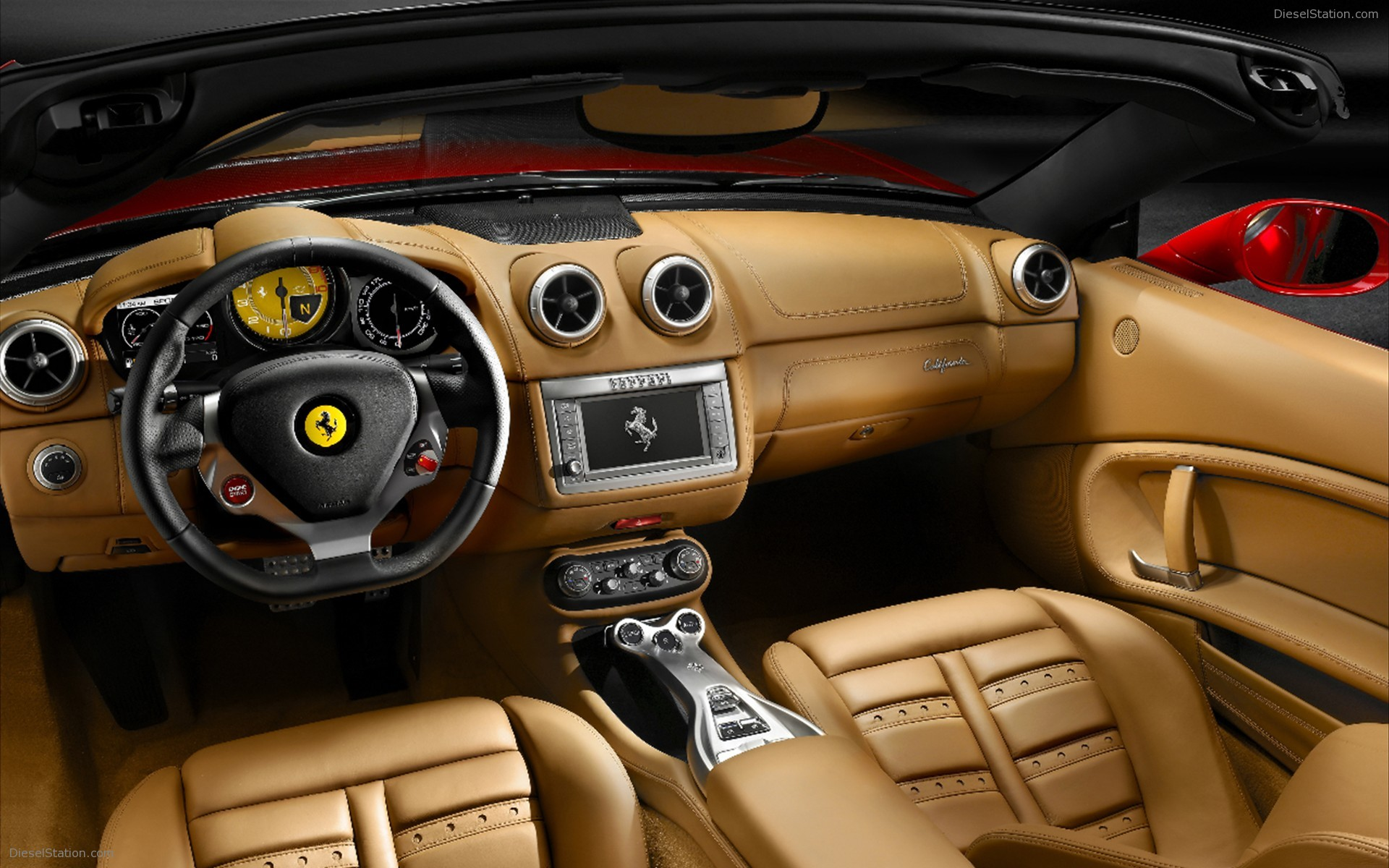 2009 Ferrari California #12