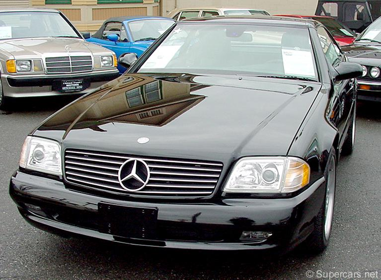 1997 Mercedes-Benz SL #7