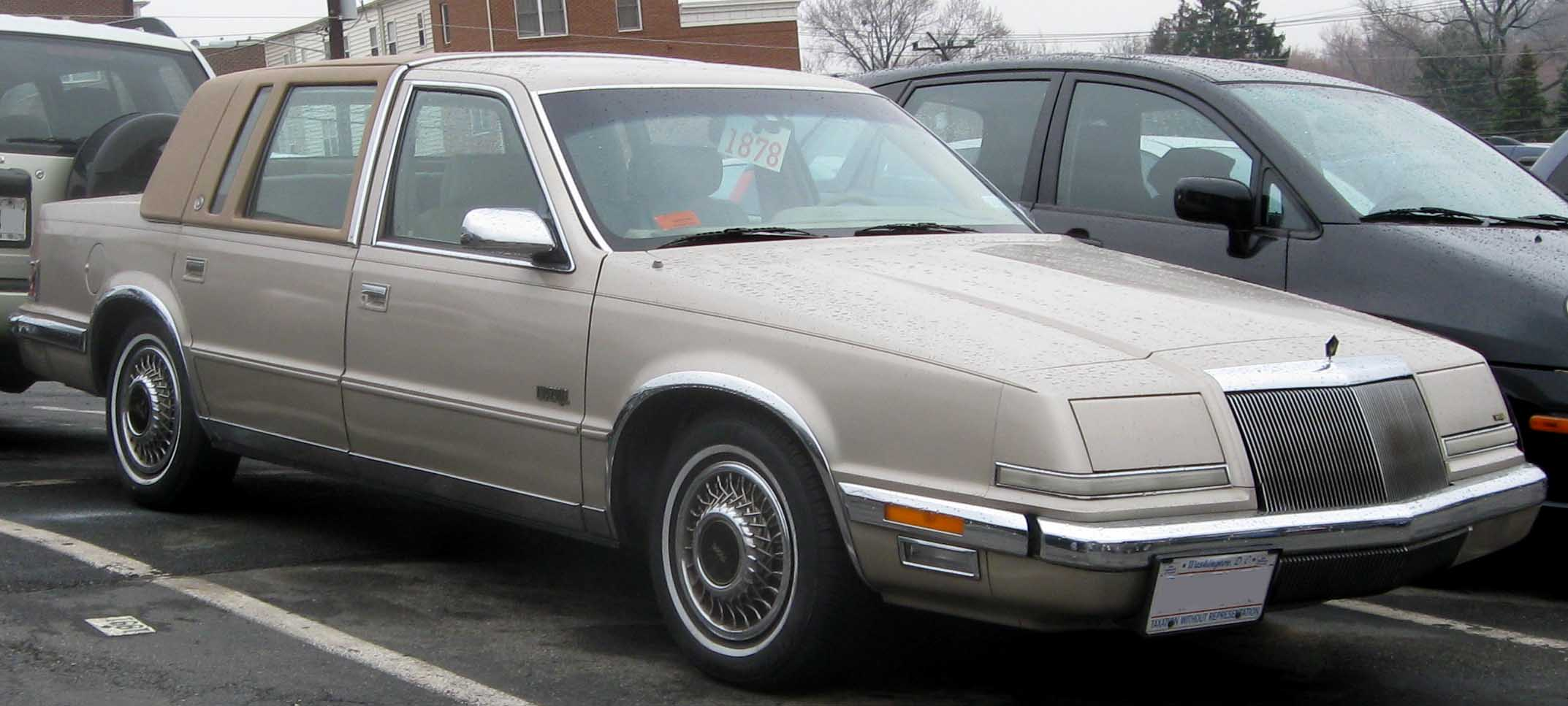 1990 Chrysler Imperial #4