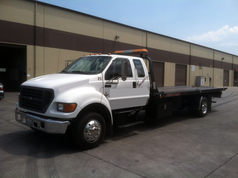 2001 Ford F-650 #6