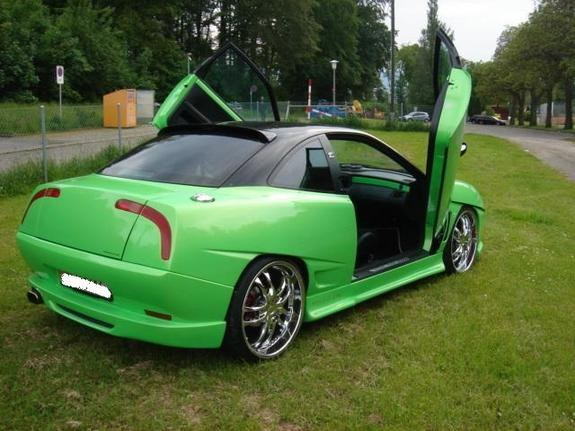 1996 Fiat Coupe #8