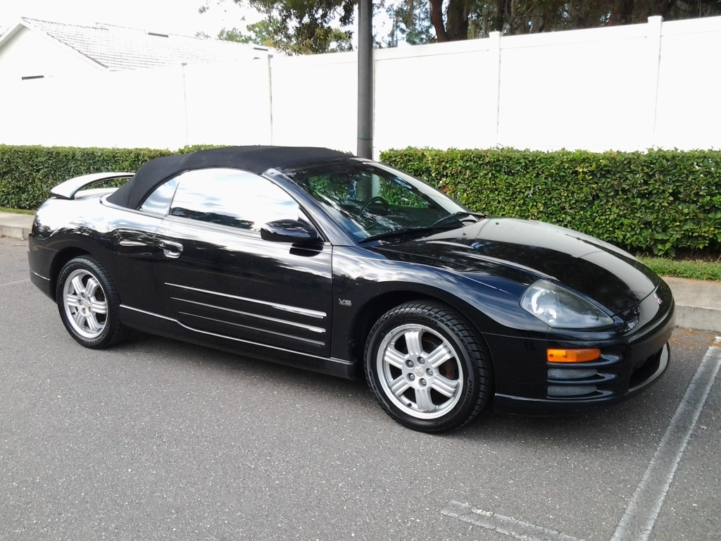 2001 Mitsubishi Eclipse Spyder Photos, Informations, Articles ...