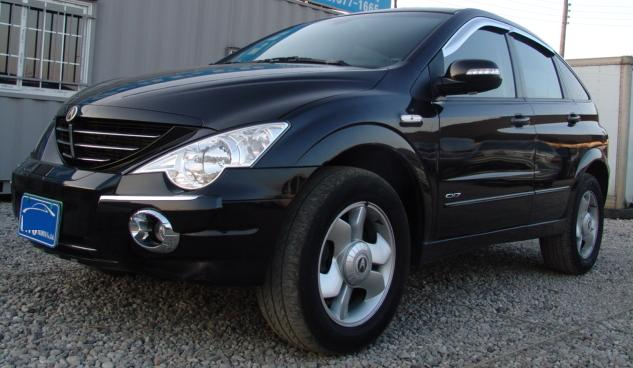 2008 Ssangyong Actyon #16