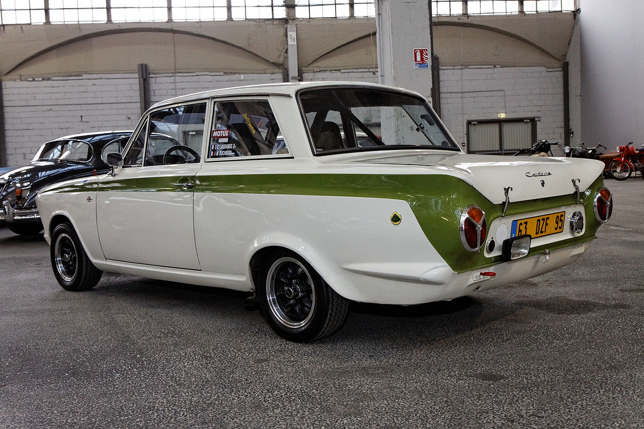Ford Lotus Cortina #9