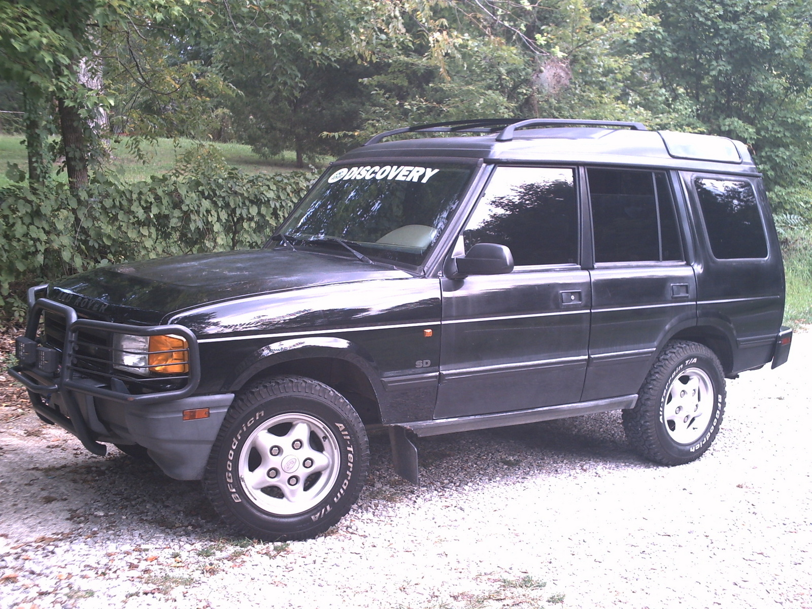 1997 Land Rover Discovery #9