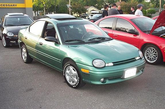 1999 Plymouth Neon #8
