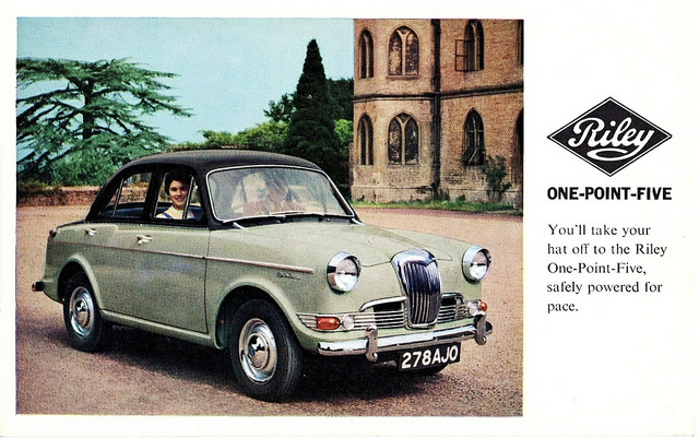 1965 Riley One-Point-Five #7