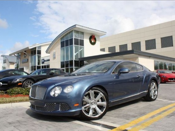 2012 Bentley Continental Gt #9