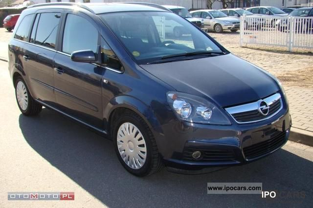 2006 Opel Zafira Photos Informations Articles Bestcarmag