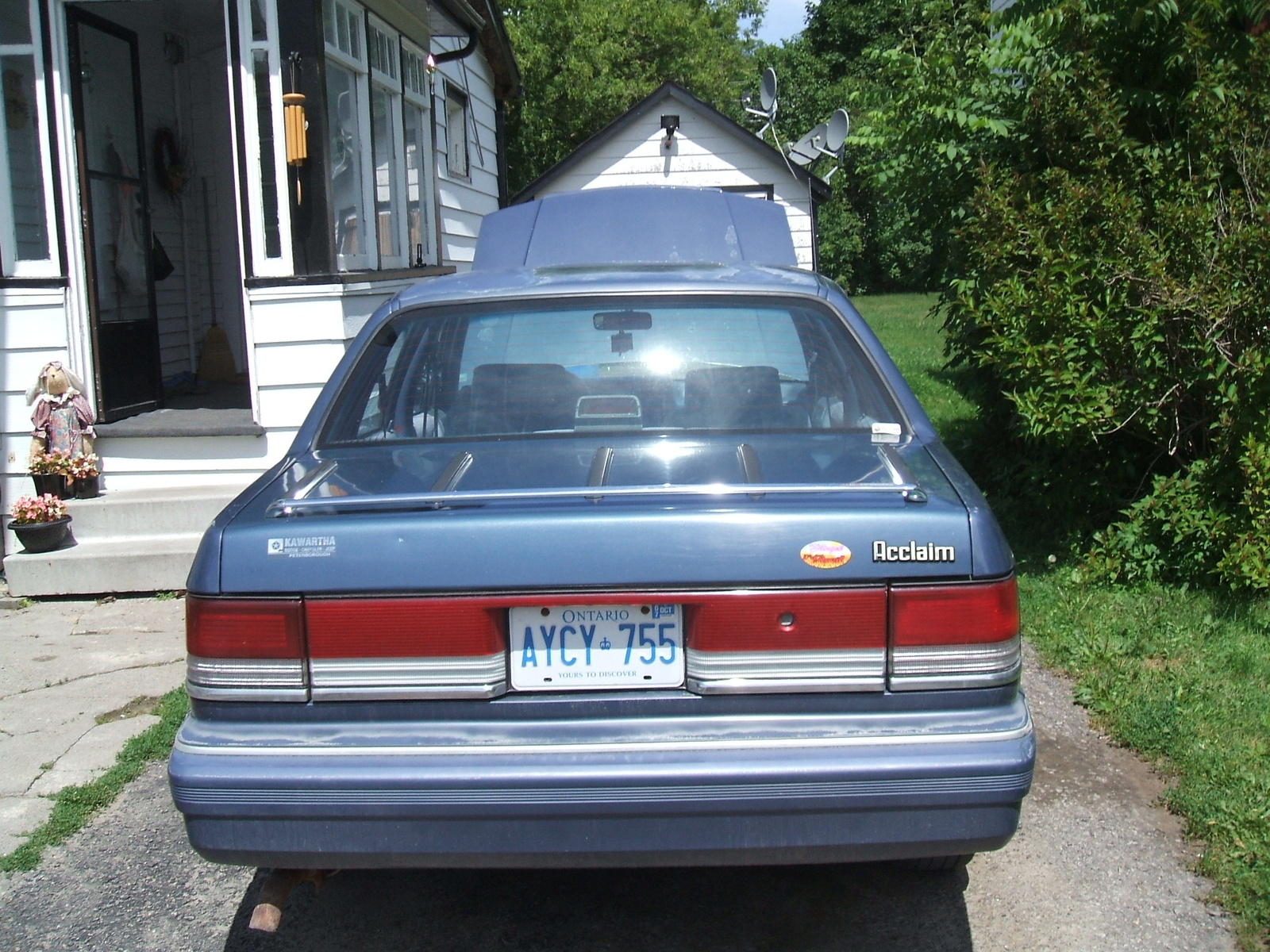 1992 Plymouth Acclaim #12