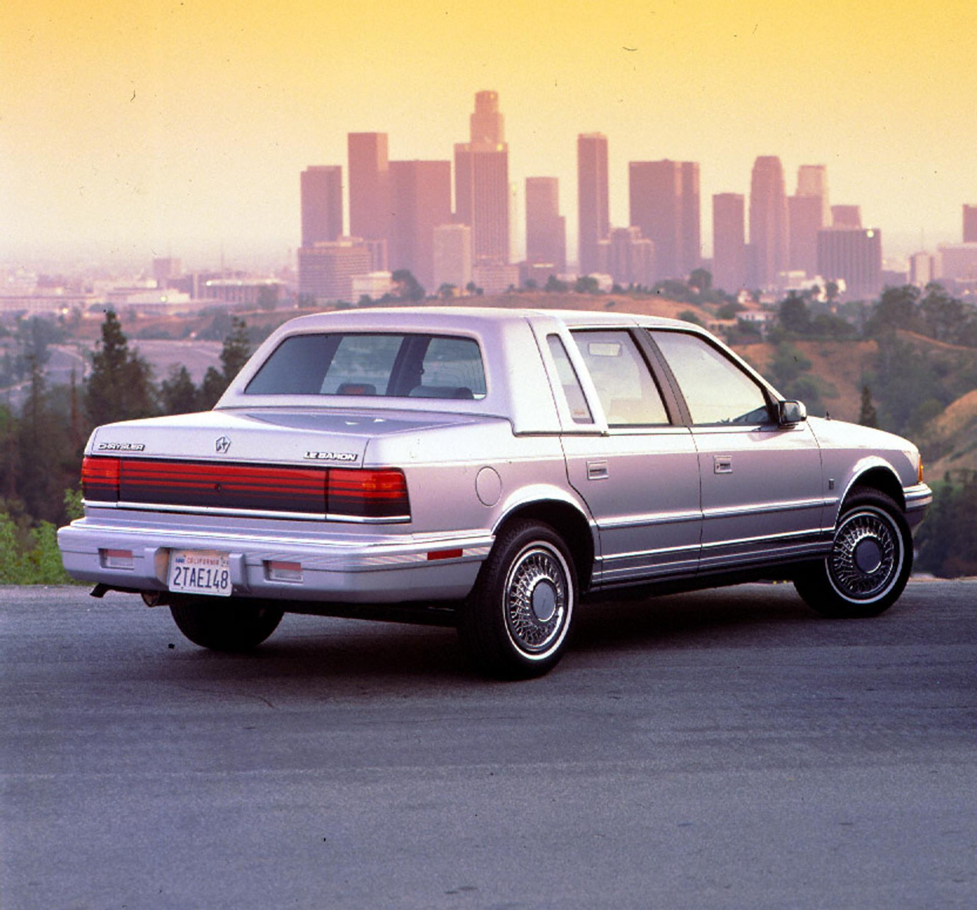 1991 Chrysler Le Baron #13