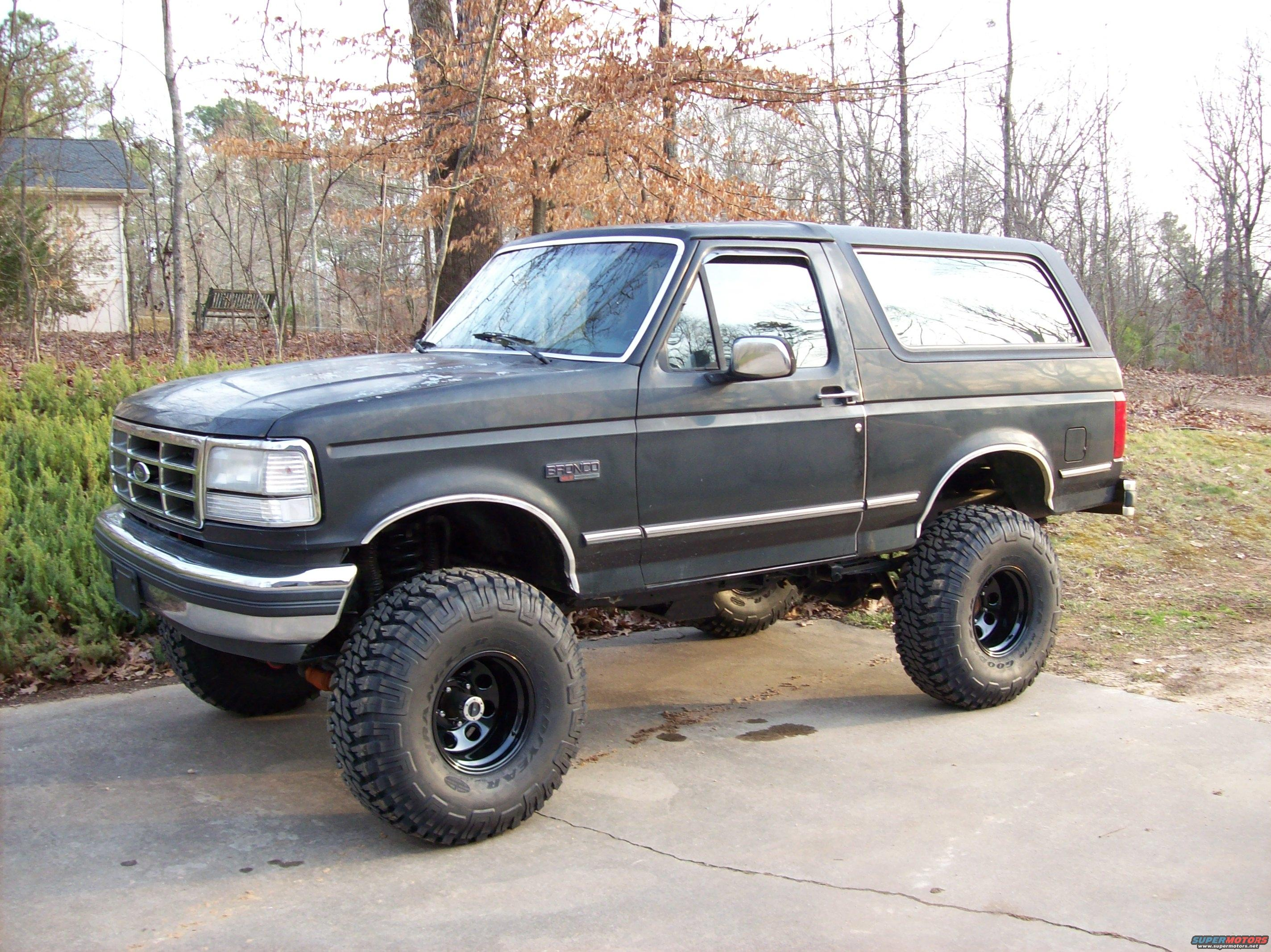 1992 Ford Bronco #5