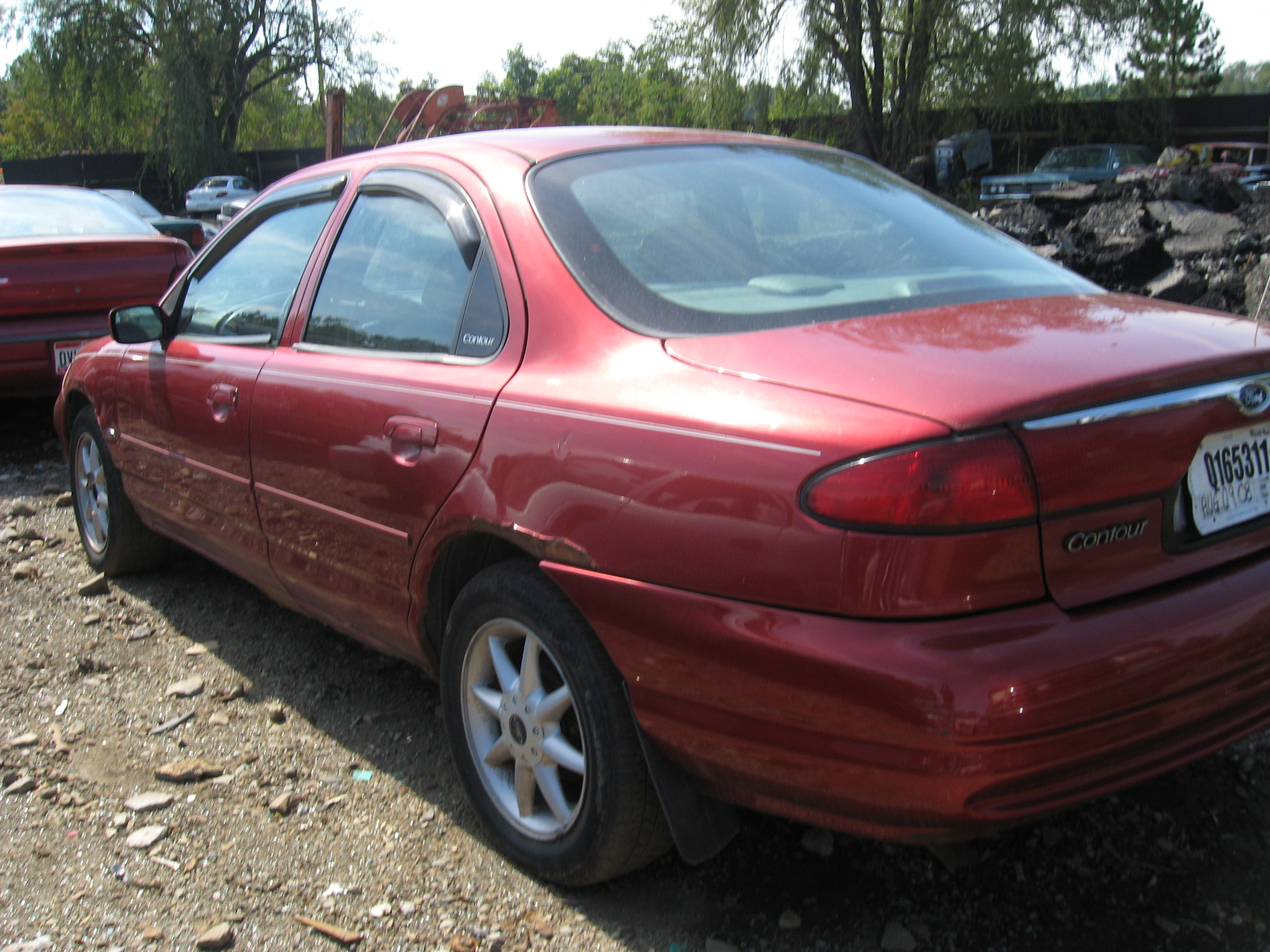 1999 ford contour 1