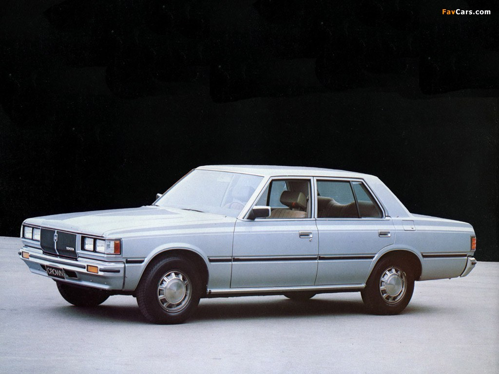 1980 Toyota Crown Photos Informations Articles