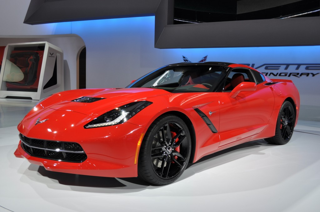 Chevrolet Corvette Stingray #8