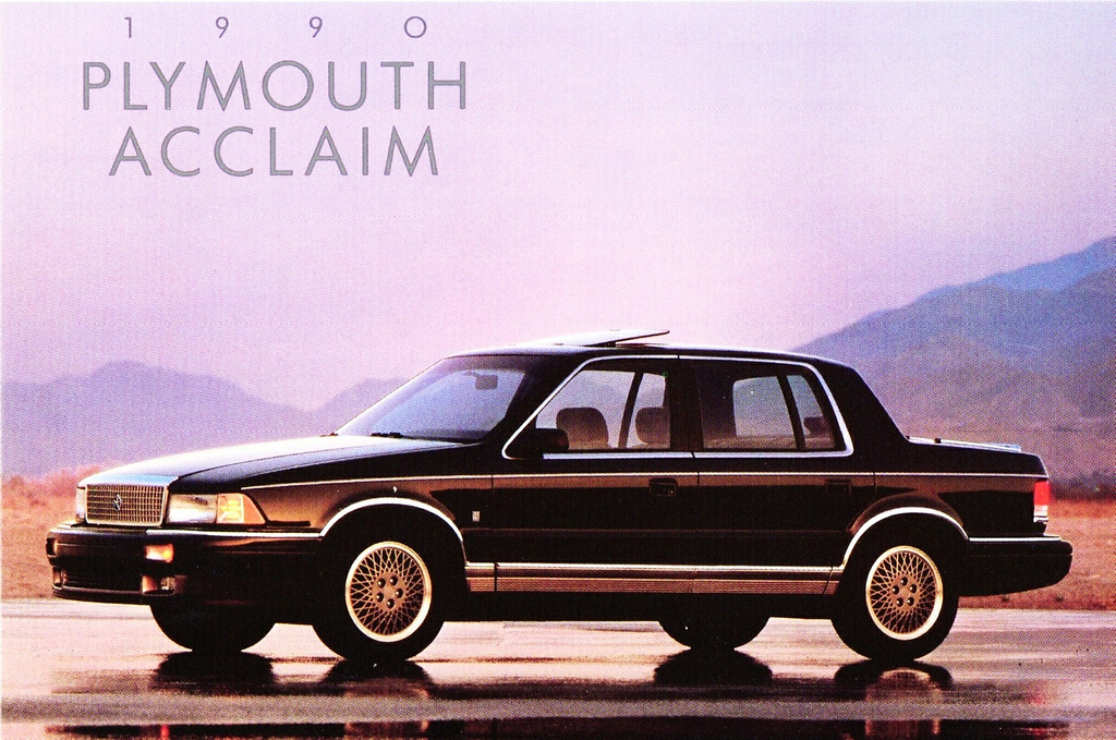1990 Plymouth Acclaim #15