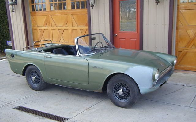 1962 Sunbeam Alpine #12