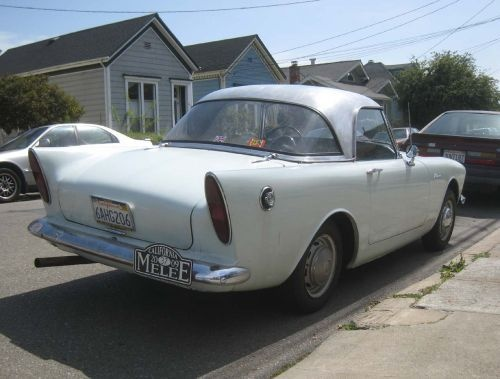 1962 Sunbeam Alpine #8