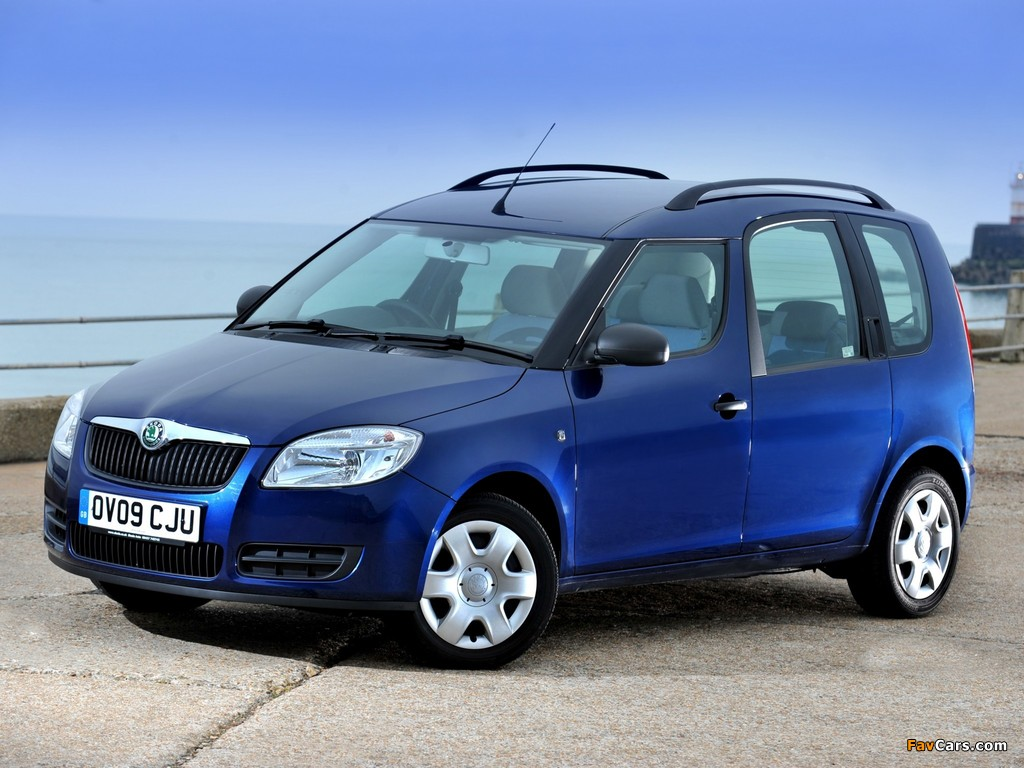 2006 skoda roomster photos informations articles. Black Bedroom Furniture Sets. Home Design Ideas