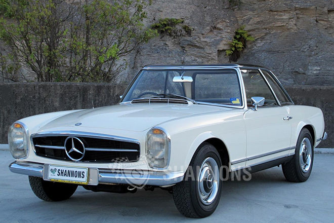 1966 Mercedes-Benz SL #11