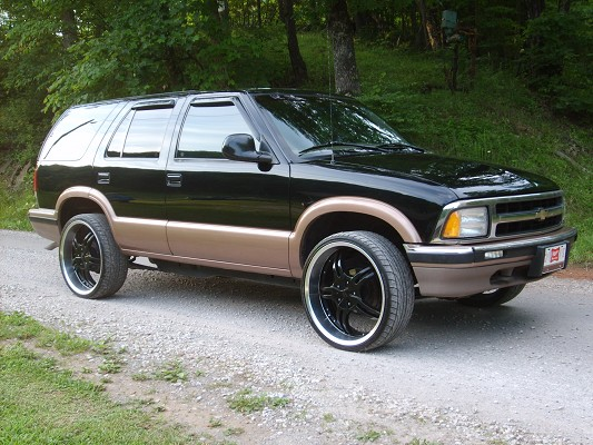 1996 Chevrolet Blazer Photos Informations Articles Bestcarmag