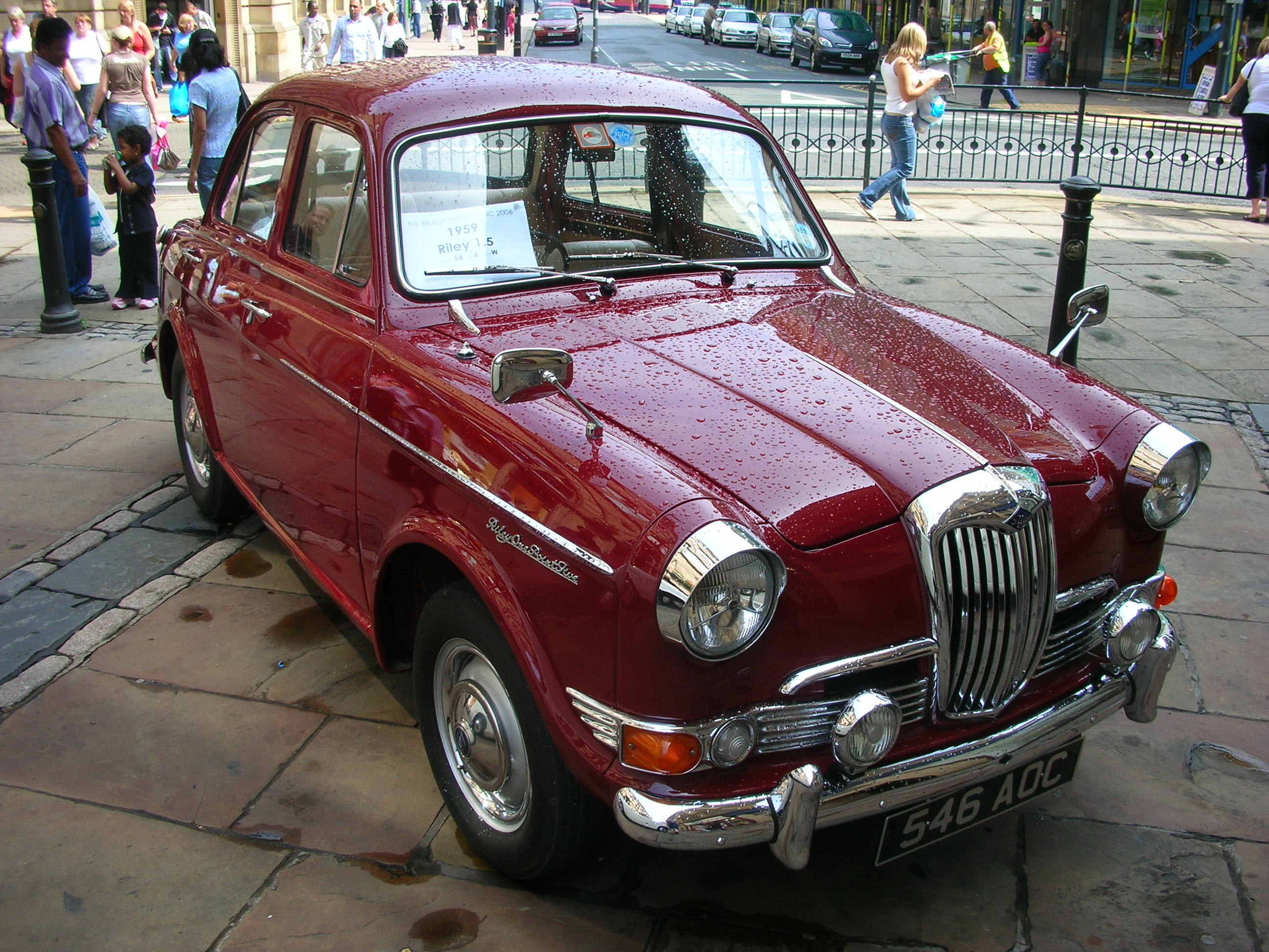 1965 Riley One-Point-Five #11