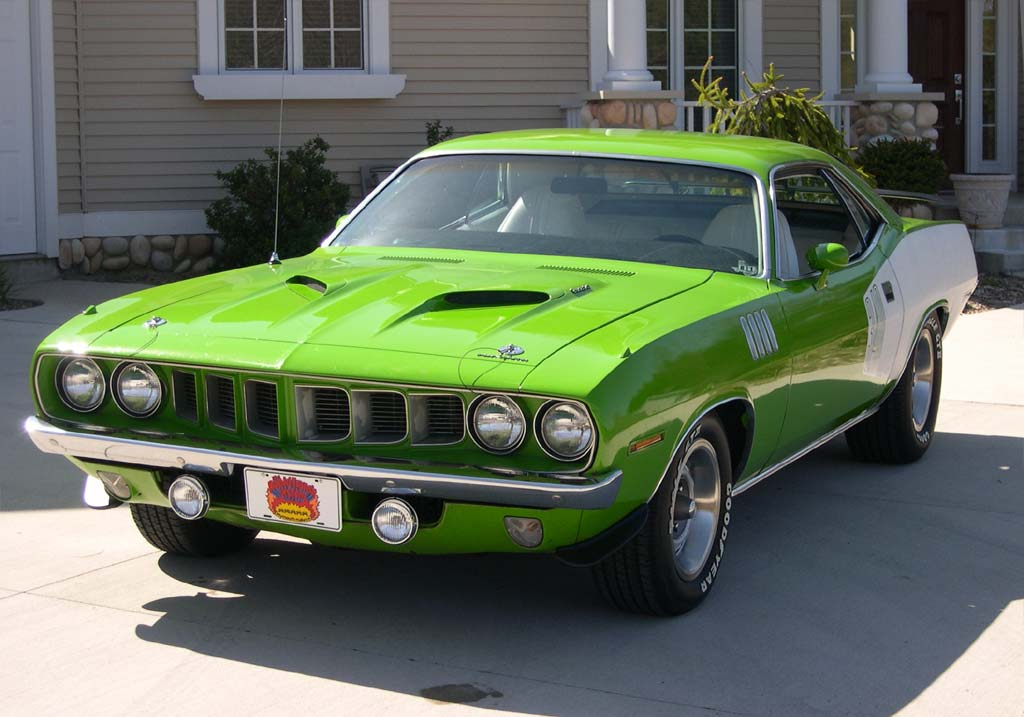 1971 Plymouth Barracuda #9