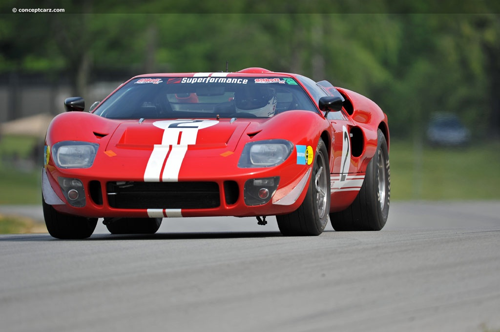 1966 Ford GT 40 #7