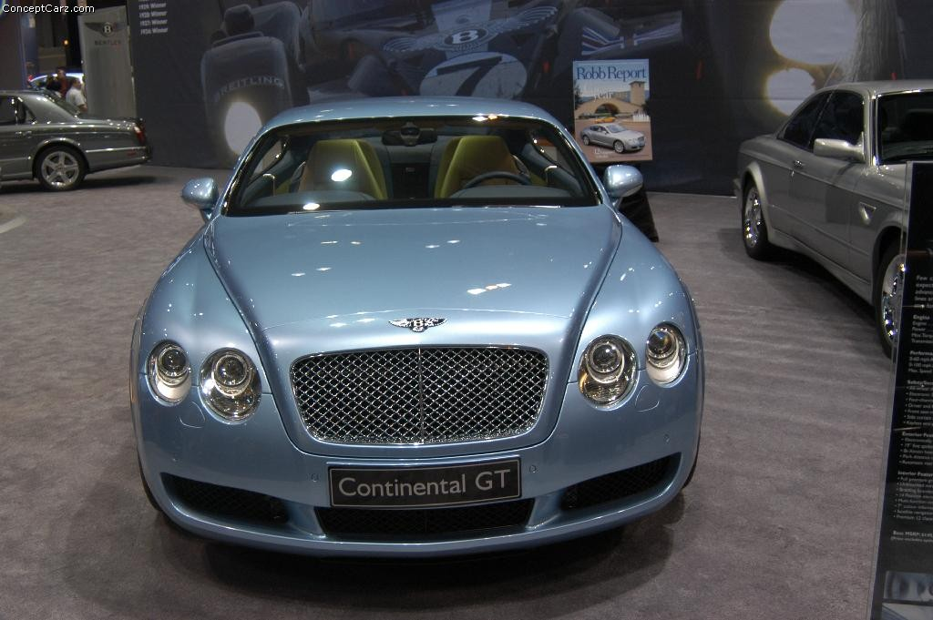 2004 Bentley Continental Gt #10