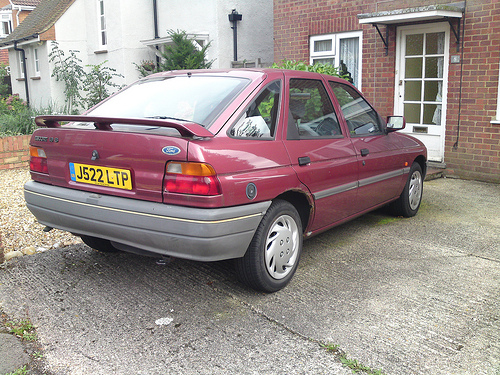 1991 Ford Orion #8