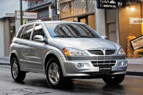 2005 Ssangyong Actyon #13
