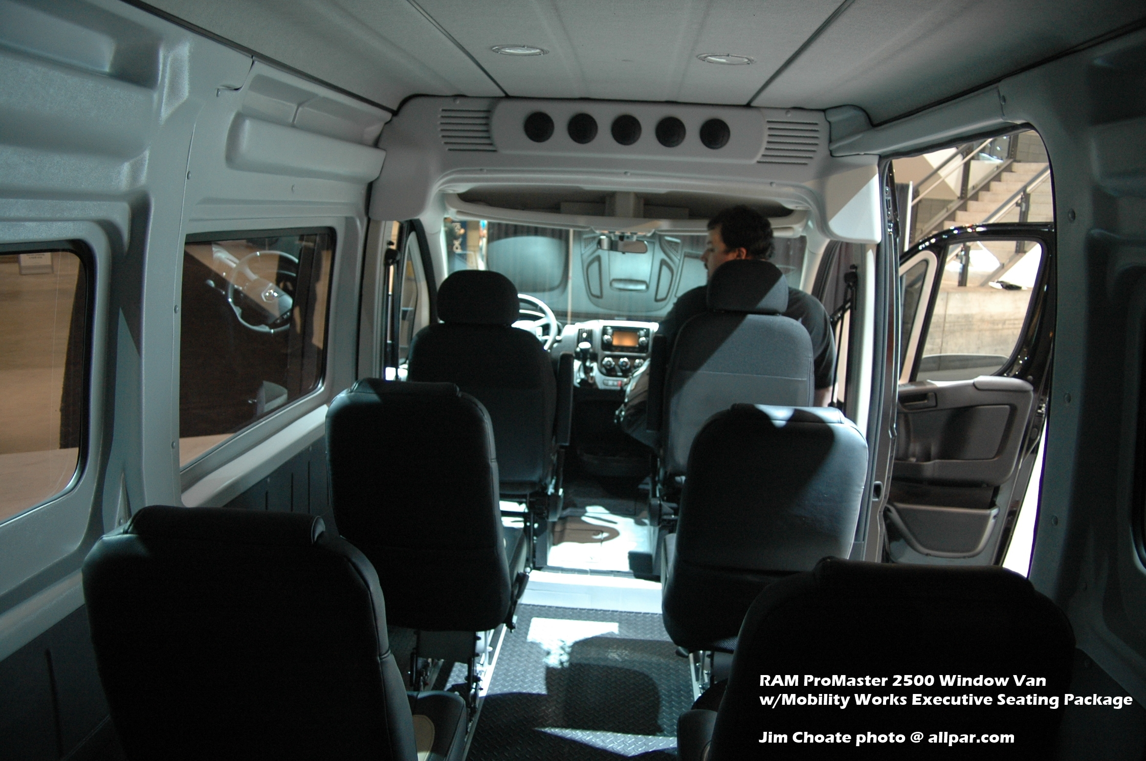 Ram Promaster Window Van #12